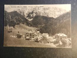 20013) Val GaRdena Selva Gruppo Sella VIAGGIATA 1927 MOLTO BELLA - Bolzano (Bozen)
