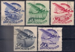 Russia 1934, Michel Nr 462-66, Forgery, Used - 1923-1991 USSR