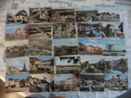 LOT  DE  266  CARTES  POSTALES    DENTELEES   DE  FRANCE - Cartes Postales