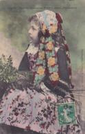 CPA 29 @ PONT L'ABBE - PENMARCH - Jeune Fille - Fillette Bretonne En 1908 - Pont L'Abbe