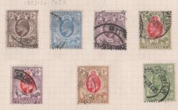 Oranje, Orange Free State, Used, 1903 - 1904, Michel 39, 40 - 46 - África Del Sur (...-1961)