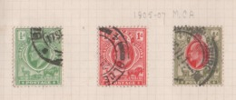 Oranje, Orange Free State, Used, 1905 - 1907, Michel 48, 49, 50 - África Del Sur (...-1961)