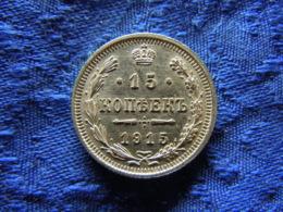 RUSSIA 15 KOPEK 1915, KM21a.3 - Russland