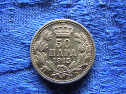 SERBIA 50 PARA 1915a, KM24.5 - Serbia