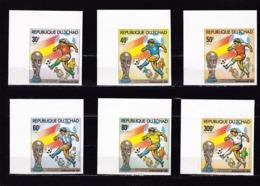Tchad Nº Michel 890B Al 895B - Coppa Del Mondo