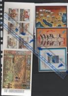 19/11 YOUGOSLAVIE YOUGOSLAVIA LOT 10 BF XX + 1 CARNET XX BOOKLET DUBROVNIK GEOGRAPHIE JO DRAPEAU FLAG - Briefmarken