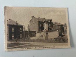 Carte Postale Ancienne  (1947) JUMET Monument Aux Héros De La Grande Guerre 1914-1918 - Charleroi
