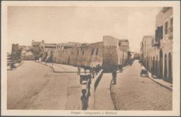 Libya Tripoli Postcard Lungomare E Bastioni Cartolina - Carte Postale - Libia