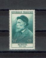 FRANCE 1955 / Theme Arts Peinture / RENOIR Yt N° 1032** Neuf Sans Charnière //  Cote 2019 = 35.00 Euros // - Sonstige