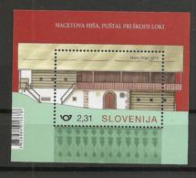 SLOVENIA  2019,RURAL HOUSES IN SLOVENIA,NACES HOUSE,MNH - Slowenien