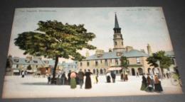 STONEHAVEN THE SQUARE SCOZIA Cartolina Reliable Series Postcard - Kincardineshire