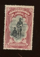 5F Etat Indépendant. 28*  Cote 75- Euros - 1894-1923 Mols: Neufs