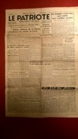 Journal Le Patriote - Quotidien Lyonnais Du Front National - 11 Juillet 1945 - Authentique - 1 Feuille Recto-Verso - Autres
