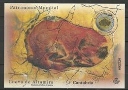 ESPAÑA Cuevas De Altamira 2015 Mi:ES BL265, Edi:ES 4965 - 2011-... Gebraucht