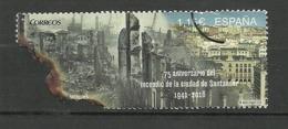 ESPAÑA 2016 Mi:ES 5041 ** MNH 75 ANIVERSARIO INCENDIO DE SANTANDER. - 1931-Today: 2nd Rep - ... Juan Carlos I