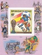 Tchad 5 Hb Diferentes Con Defecto En 2 De Ellas - Coppa Del Mondo