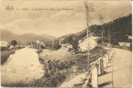COO - L'Amblève Et La Route Vers Trois-Ponts - Oblitération De 1928 - Marco Marcovici - Trois-Ponts
