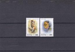 Corée Du Nord YV 2937/8 MNH 2000 Singe Tarsier - Ohne Zuordnung