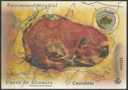 ESPAÑA Cuevas De Altamira 2015 Mi:ES BL265, Edi:ES 4965 - 2011-... Usados