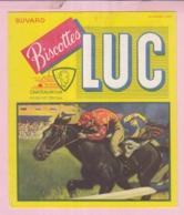 Buvard Biscottes LUC Chateauroux  équitation PMU  19 - Biscottes
