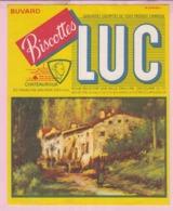 Buvard Biscottes LUC Chateauroux  Maison  19 - Biscottes