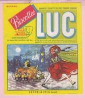 Buvard Biscottes LUC Chateauroux  Conte Cendrillon  19 - Zwieback