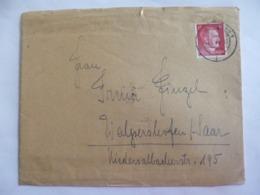 Enveloppe. Courrier 1943.   Deutsches Reich. - 1939-45