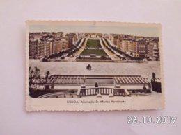 Lisboa. - Alameda D. Alfonso Henriques. (13 - 8 - 1962) - Lisboa
