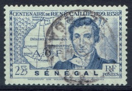 Senegal (French Colony), 2f.25, René Caillé, French Explorer Of Timbuktu, 1939, VFU - Used Stamps