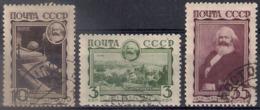 Russia 1933, Michel Nr 424-26, Used - 1923-1991 USSR