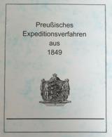 Preußisches Expeditionsverfahren 1849 - Filatelia E Storia Postale