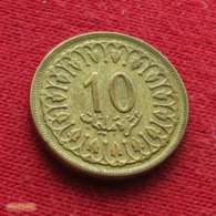 Tunisia 10 Millim 1960 KM# 306 Tunisie Tunez Tunesia - Tunisia