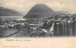 Switzerland Lugano E Monte S. Salvatore Lake Panoramic View - Suiza