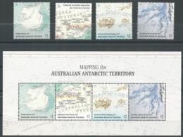 AAT 2019 - Carte Des Territoires Antarctiques Australiens - Unused Stamps