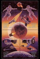 Russia 1992. [0022-25] Exploration Of Space - Raumfahrt