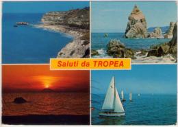 Saluti Da Tropea (Vb). Multivisione. VG. - Vibo Valentia