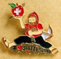 GUILLAUME TELL - POMME - ROT APFEL - RED APPLE - SWITZERLAND - ARBALTE - SUISSE - SWISS - SCHWEIZ -               (22) - Personajes Célebres