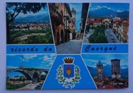 RICORDO DA CUORGNE' - Vedutine - Timbro Campionato Nazionale Ciclo Campestre - Nv P2 - Italy