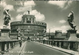 Italy - Roma (Rome) - Ponte E Castel Sant Angelo - Italia