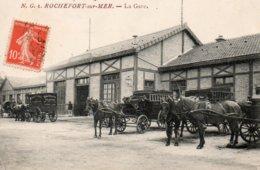 17101Rochefort La Gare1Circulée 19?? - Rochefort