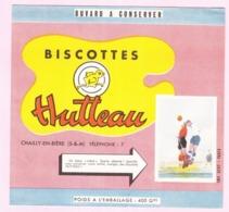 Buvard Biscottes HUTTEAU Football 19 - Biscottes