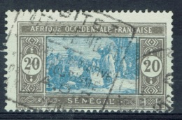 Senegal (French Colony), 20c., African Market, 1927, VFU - Used Stamps