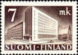 Finland - Central Post Office In Helsinki -1942 - Finland