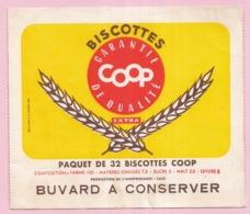 Buvard Biscottes COOP 19 - Biscottes