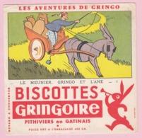 Buvard Biscottes GRINGOIRE Le Meunier 19 - Biscottes