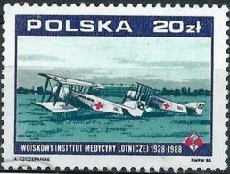 Poland 1988 - Mi 3164 - YT 2970 ( Airplane Hanriot XIV ) - 1944-.... République