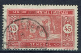 Senegal (French Colony), 45c., African Market, 1922, VFU - Used Stamps