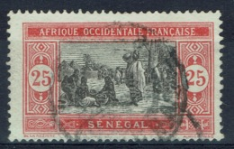 Senegal (French Colony), 25c., African Market, 1922, VFU - Used Stamps