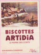 Buvard Biscottes ARTIDIA Saint Pierre 3 19 - Biscottes