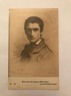 CPA NON CIRCULEE - L. BONNAT PAR LUI MEME 1852 CRAYON - BAYONNE MUSEE BONNAT - Musei